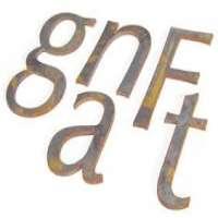 Mild Steel Letter Manufacturers