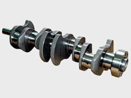 Crankshaft Engine Spare Parts