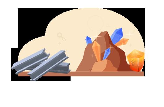 矿产和冶金