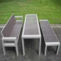 钢花园桌 制造商