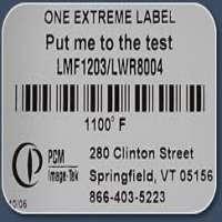 高温标签 制造商