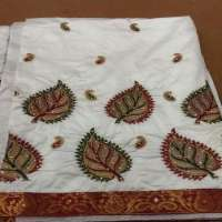 Wedding Embroidery Saree Importers