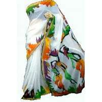 Hand Painted Saree Manufacturers