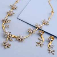Flower Design Necklace Manufacturers