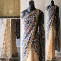 Floral Print Saree Manufacturers