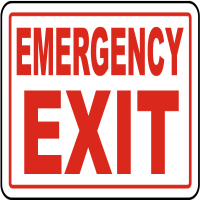 Emergency Signs Manufacturers