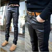 Men Leather Trousers Manufacturers