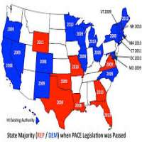 Political State Maps Manufacturers