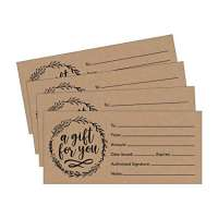 Paper Gift Card Manufacturers