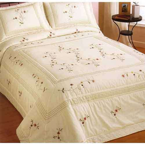 手工刺绣床上用品套装 制造商