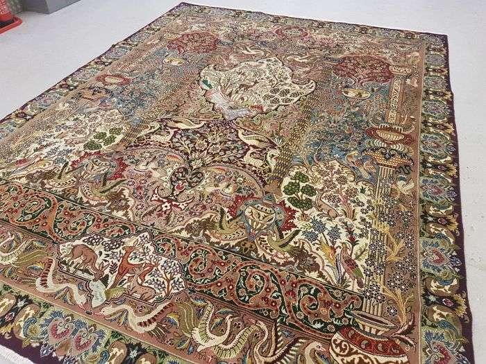 手工制作的波斯地毯 制造商