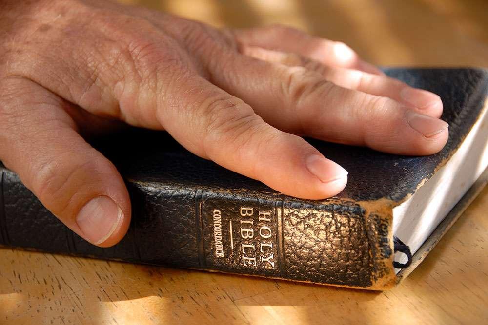 手放在圣经上 制造商