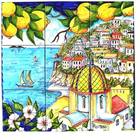 手绘艺术瓷砖 制造商