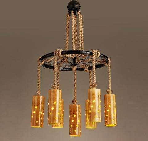 Handmade Bamboo Lamp Manufacturers