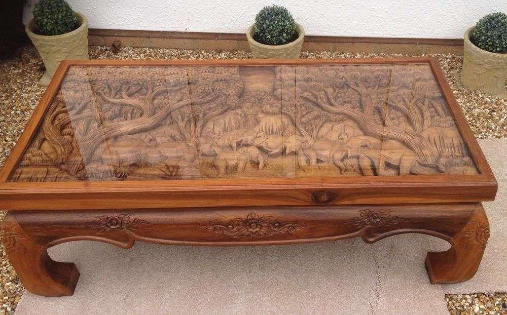 手工雕刻桌 制造商