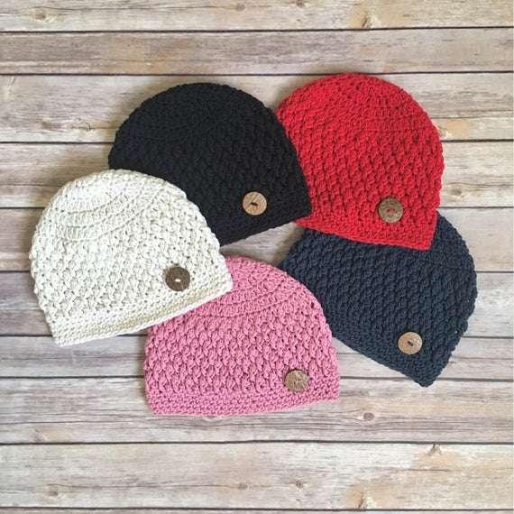 手工钩针编织帽子 制造商