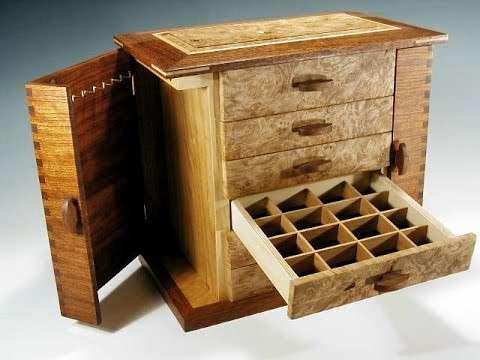 Handmade Jewelry Wooden Box Manufacturers