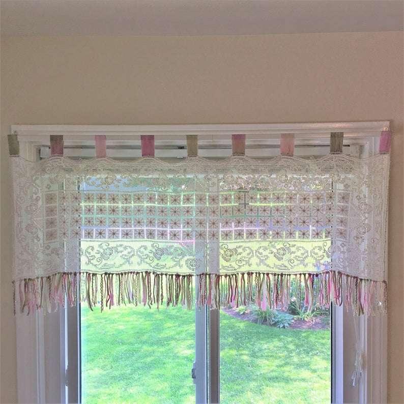 手工蕾丝窗帘 制造商