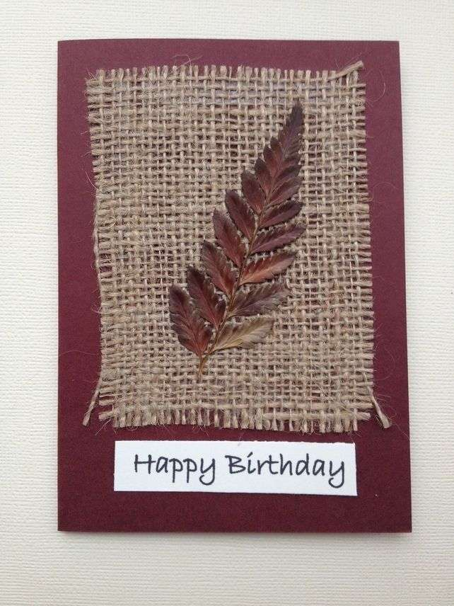 Handmade Natural Card Manufacturers