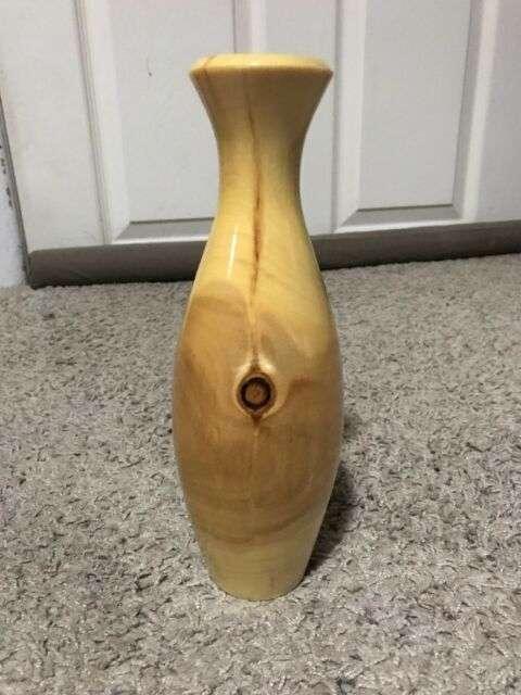 手工天然木花瓶 制造商