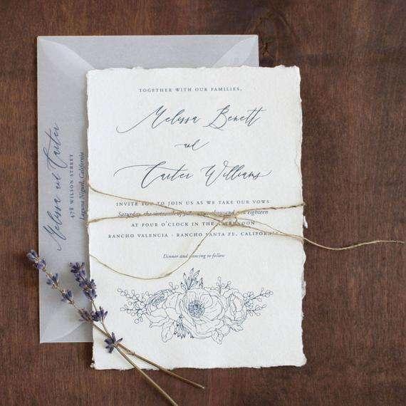 Handmade Paper Invitation Manufacturers