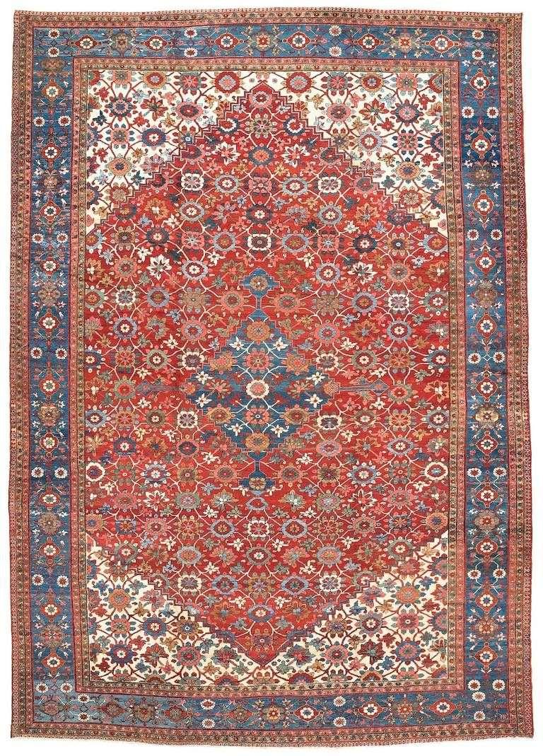 手工波斯羊毛地毯 制造商