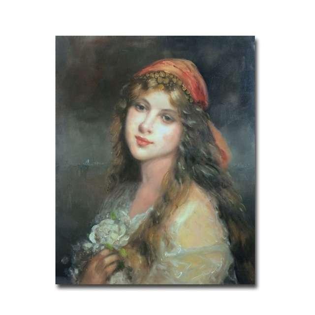 手工肖像油画 制造商