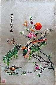 手工丝绸刺绣 制造商