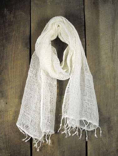 手工编织的棉围巾 制造商