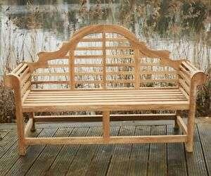 硬木花园长凳 制造商