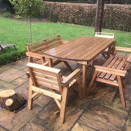 硬木花园桌 制造商