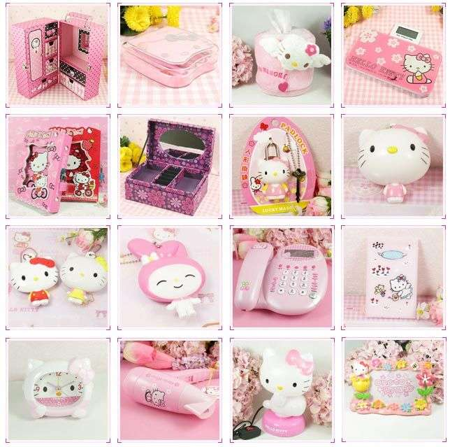 Hello Kitty Item Manufacturers