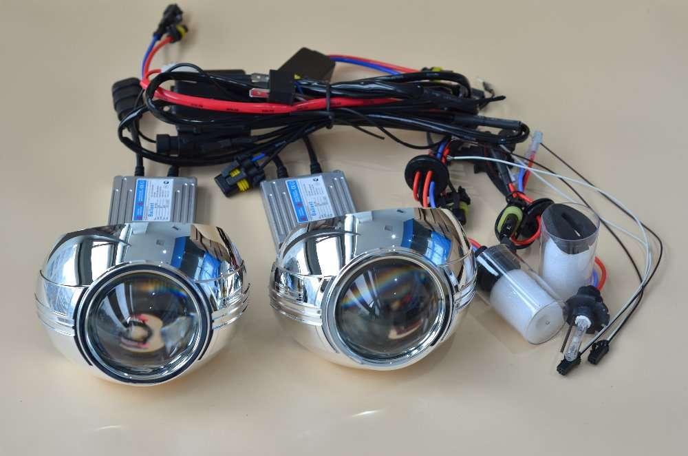 隐藏式双氙气投影仪镜头灯 制造商