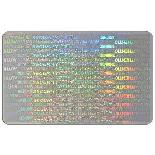 Hologram Security Card Manufacturers