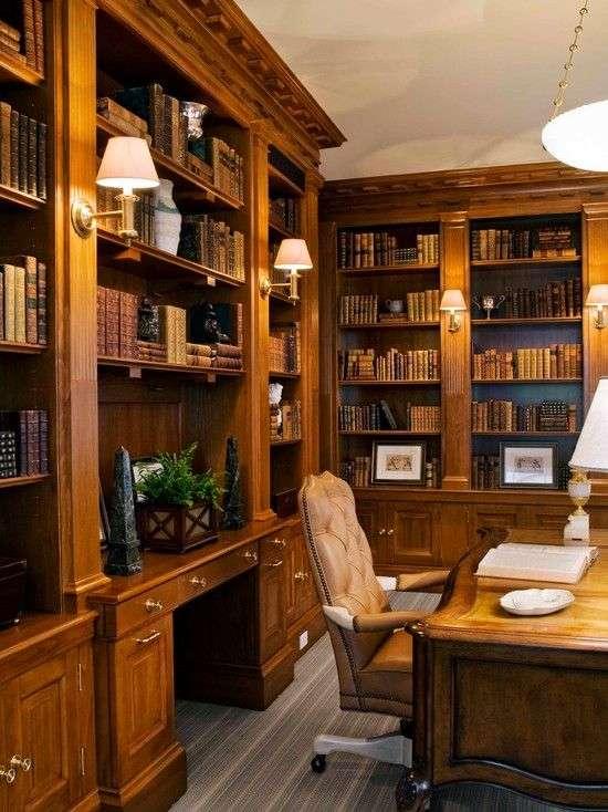 家庭办公室图书馆家具 制造商