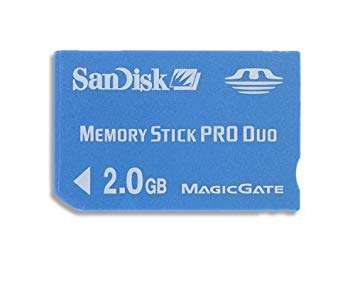 Sandisk Pro Duo Memory Stick Manufacturers