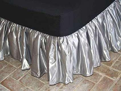 绸缎床裙 制造商