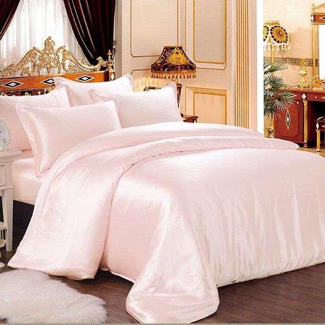 缎面床上用品床罩 制造商