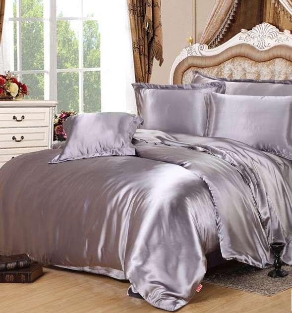 缎子床上用品床单 制造商