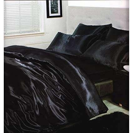 缎面床上用品羽绒被套装 制造商