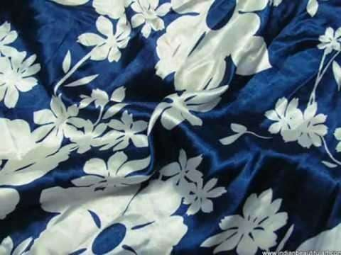 Satin Cotton Printed Fabric Importers