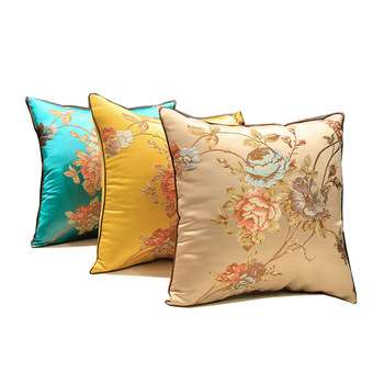 Satin Home Cushion Cover Manufacturers