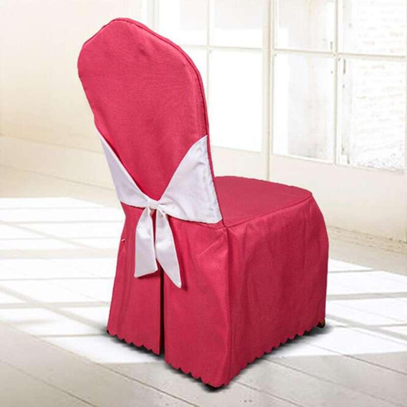 缎面酒店椅子套 制造商