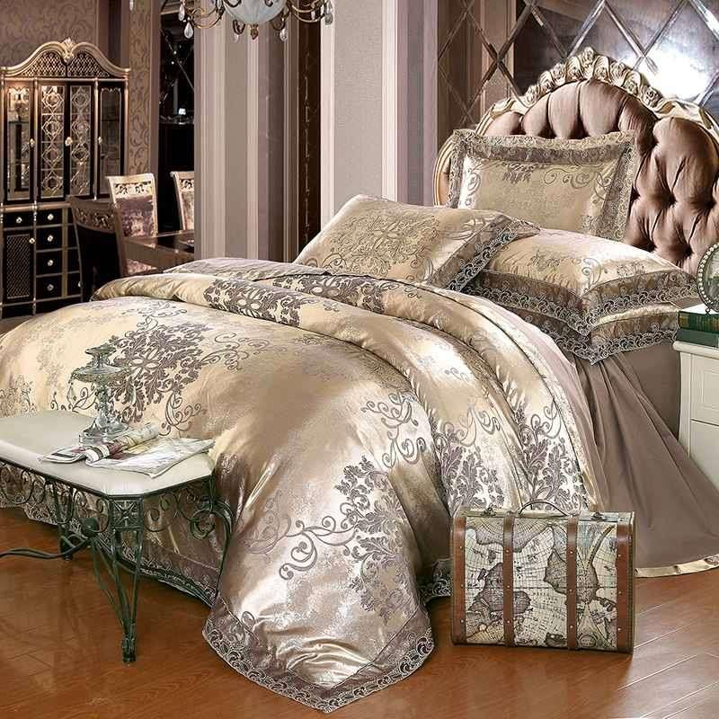 Satin Jacquard Bed Sheet Manufacturers