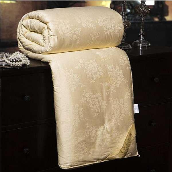 缎面提花毛毯 制造商