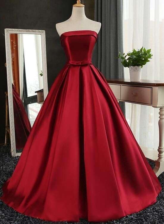 Satin Long Gown Manufacturers