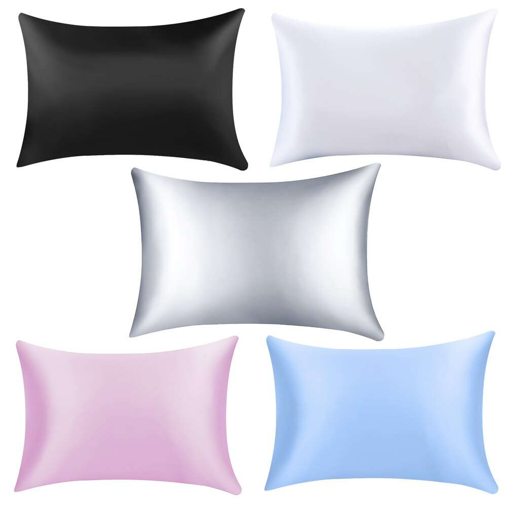 Satin Plain Dyed Cushion Cover Manufacturers