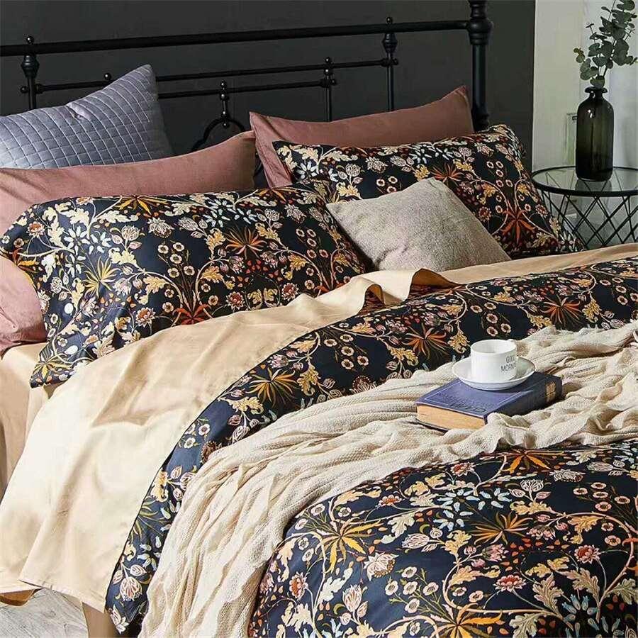 Satin Print Bedspread Manufacturers
