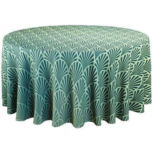缎纹印花桌布 制造商