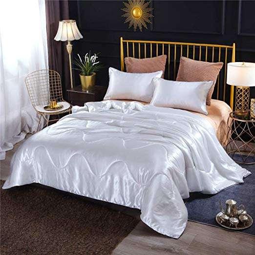 缎面缝床单 制造商